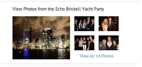 Photos from the Echo Brickell Yacht Party