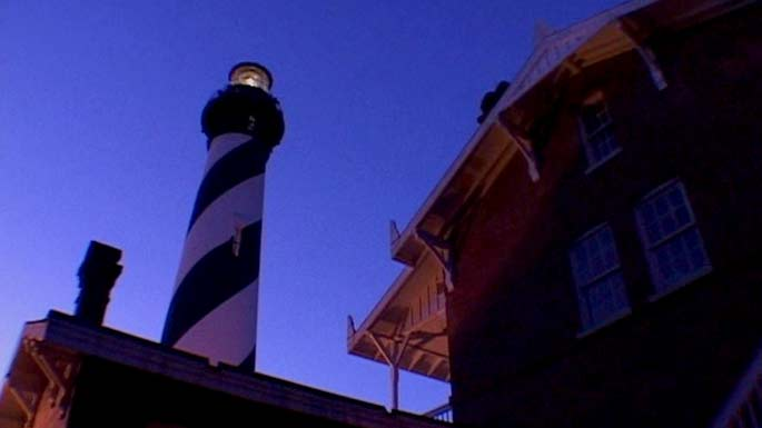 The popular television show Ghost Hunters, featured the St. Augustine Lighthouse as a haunted location. (Photo Credit: Syfy Channel)