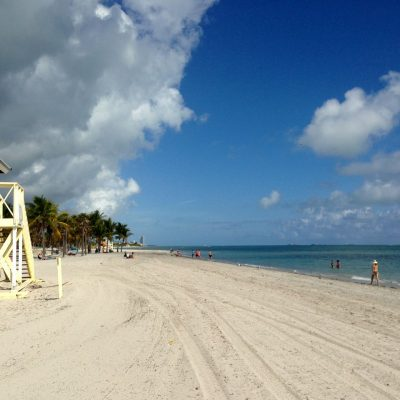A Tale of Two Beaches: Key Biscayne and South Beach