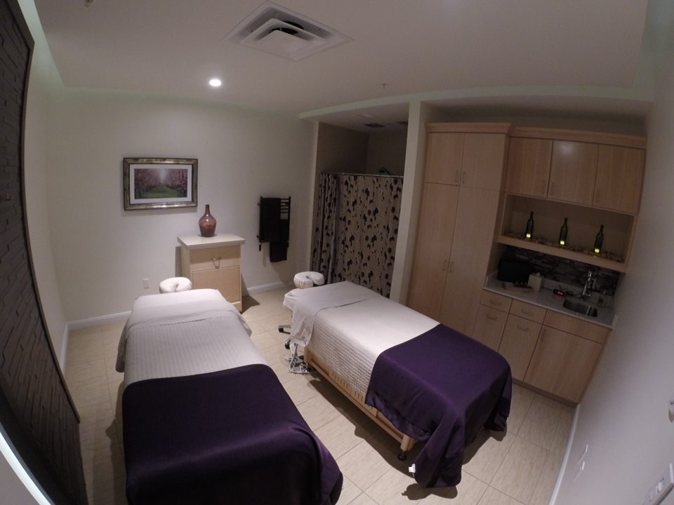 Treatment Room at Evangeline Spa