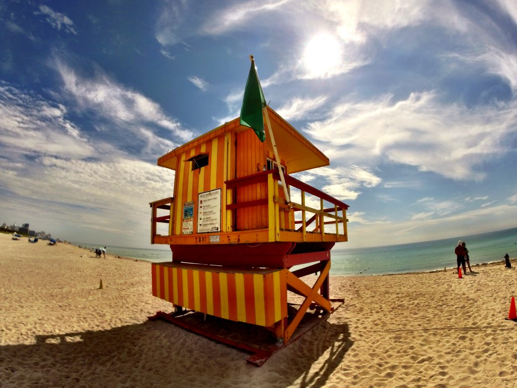 South Beach Lifeguard Stand