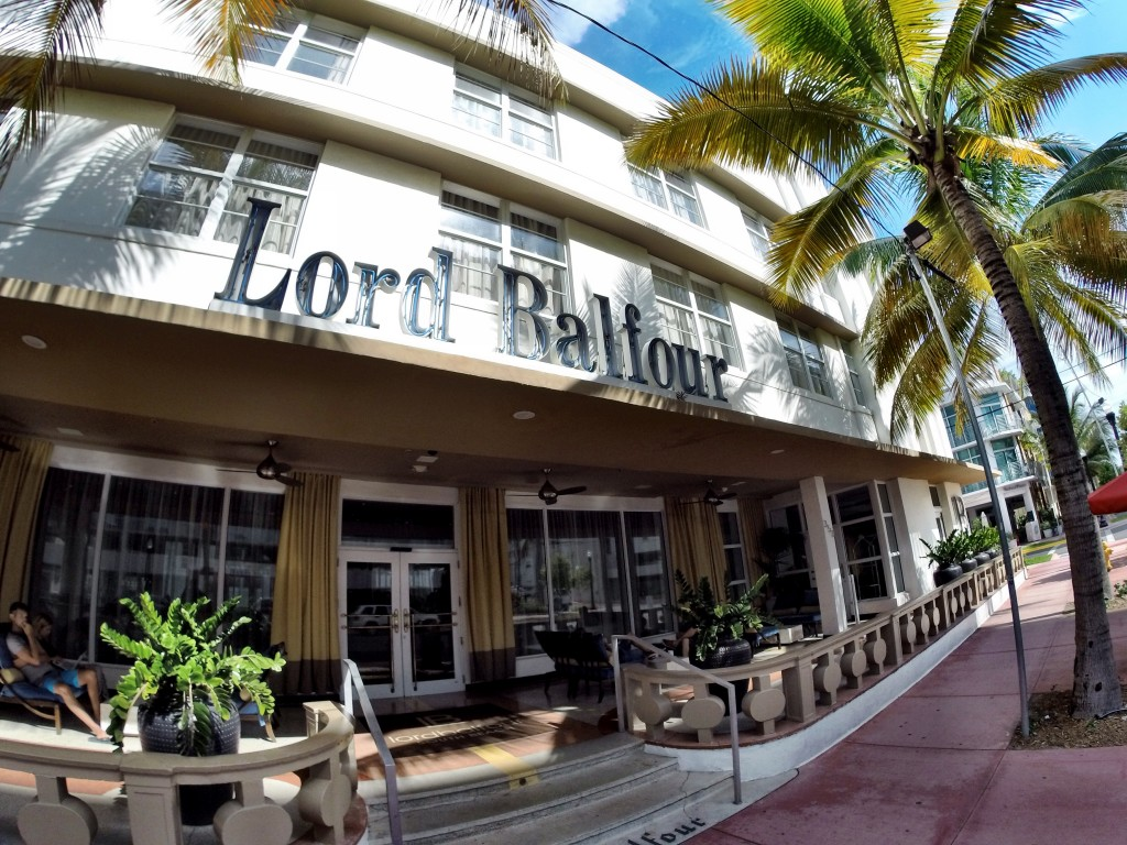 Lord Balfour in South Beach