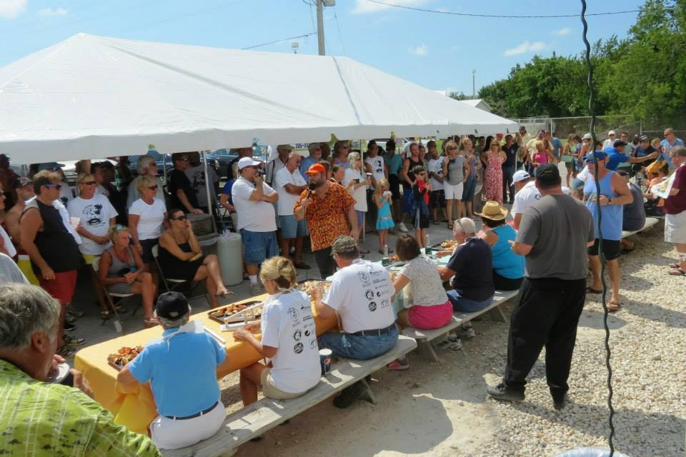 Stone Crab Eating Contest