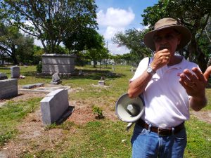 Dr. Paul George with HistoryMiami