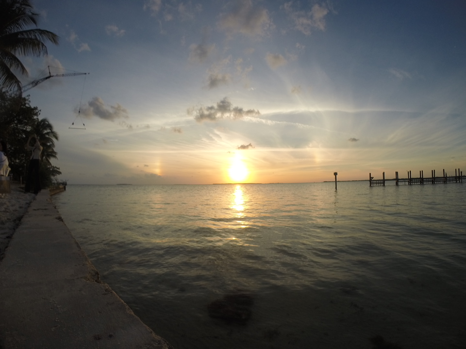 Sunset in Key Largo
