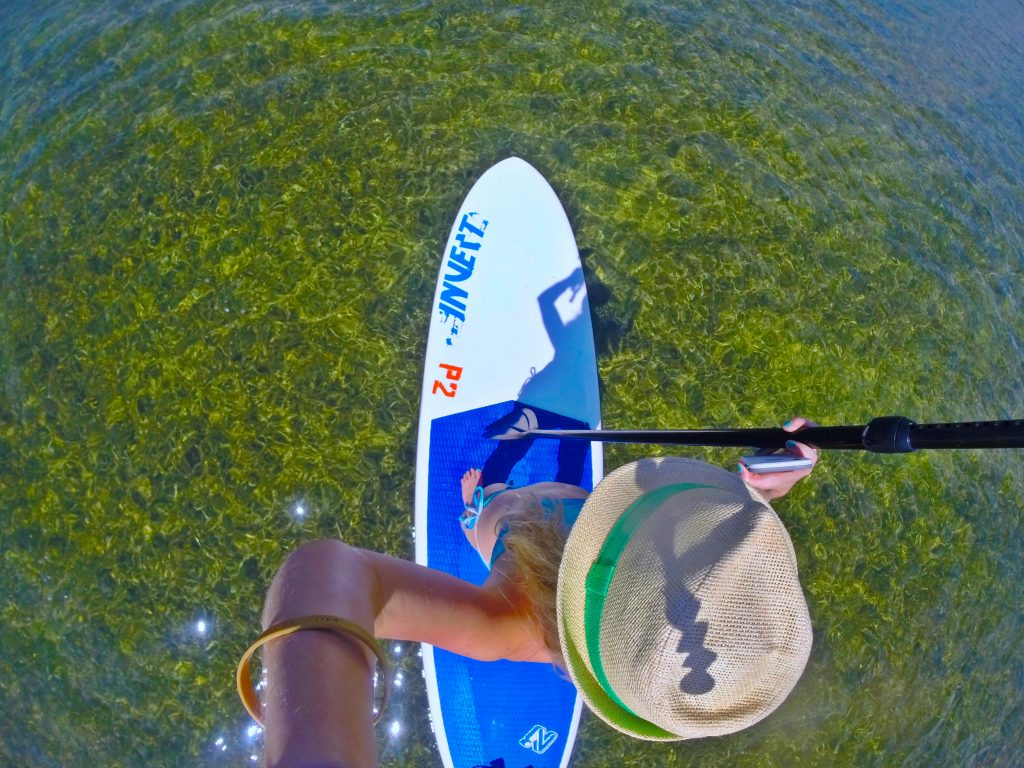 kara-franker-stand-up-paddle-board-islamorada