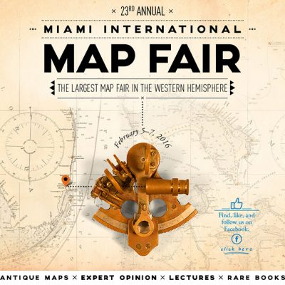 Plan Your Trip: Miami International Map Fair is Feb. 5-7