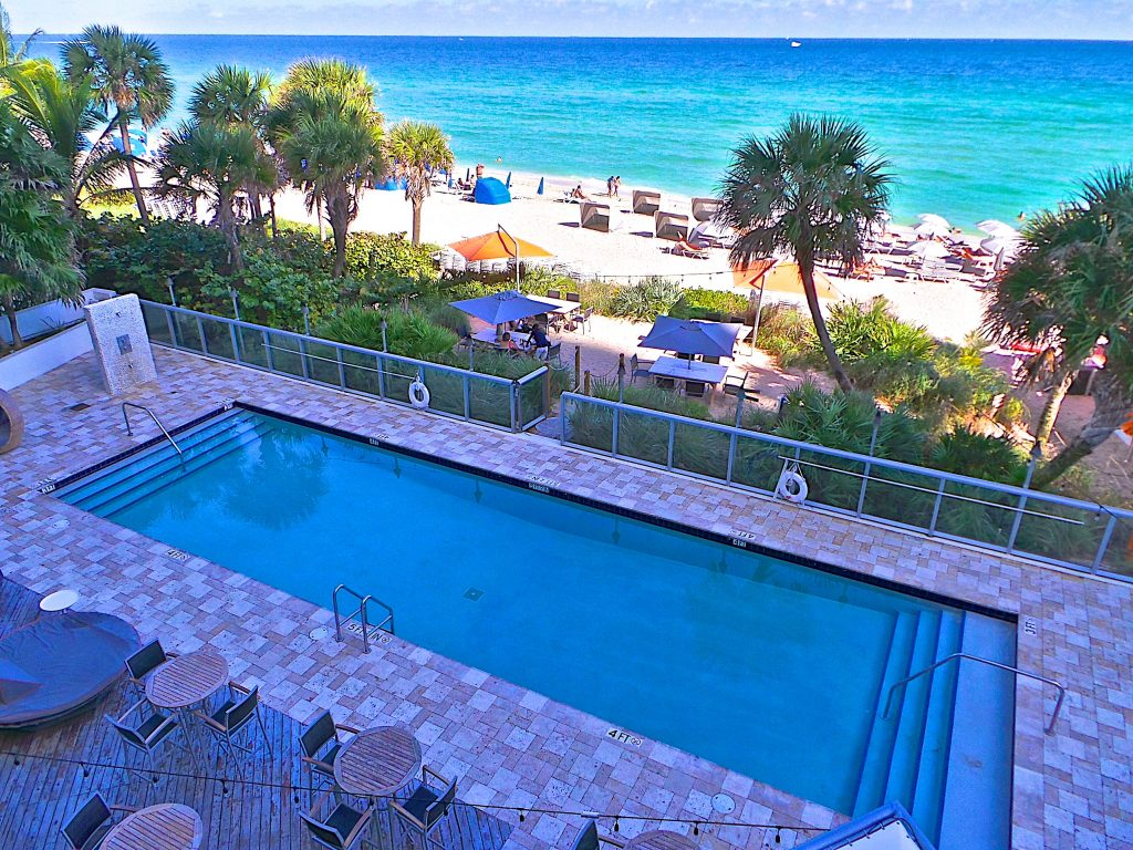 Are you cold win a free vacation to miami - Sunny beach pools ...