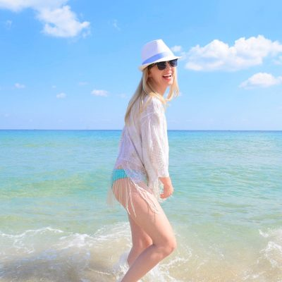 The Perfect Beach Cover Up and Sunnies to Match