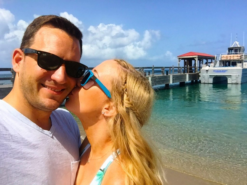 kara and jeremy franker in nevis