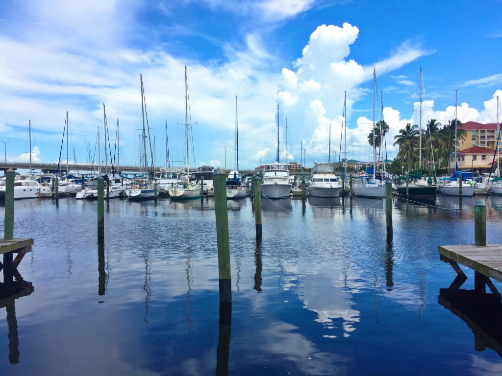 Marina in Bradenton by Kara Franker