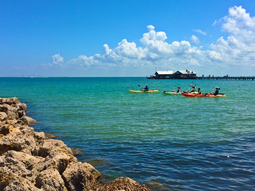 Kayakers on Anna Maria Island by Kara Franker