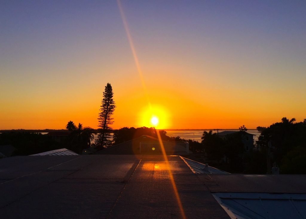 Anna Maria Island Rooftop Sunset by Kara Franker