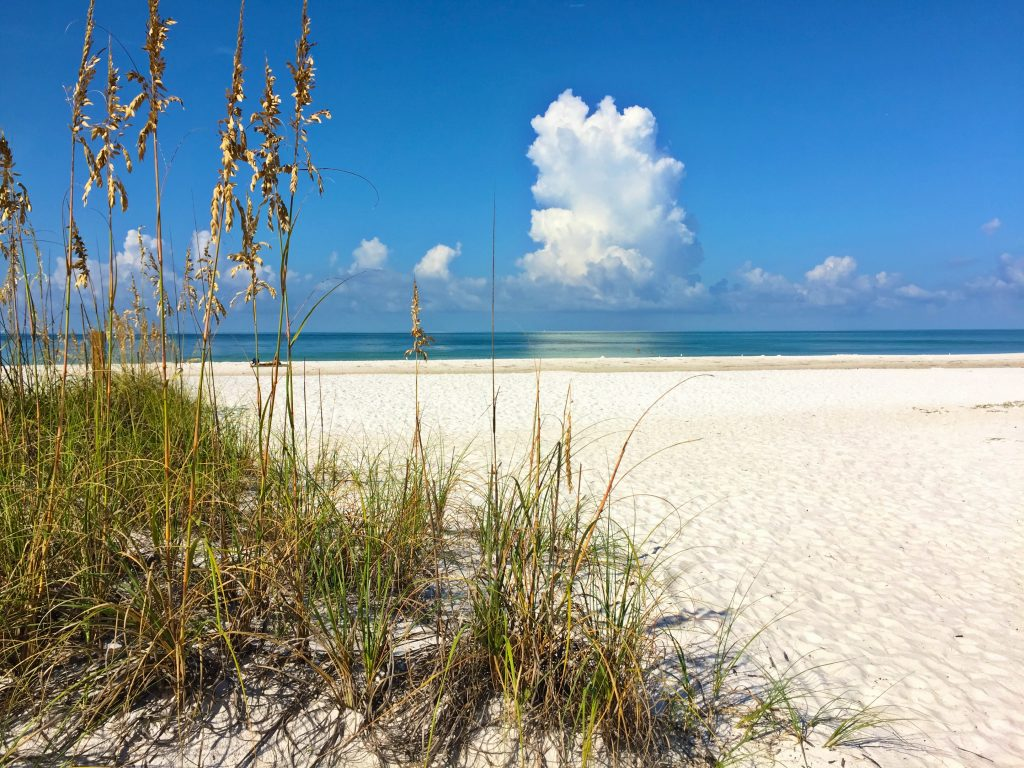 Perfect Beach Day on Anna Maria Island by Kara Franker