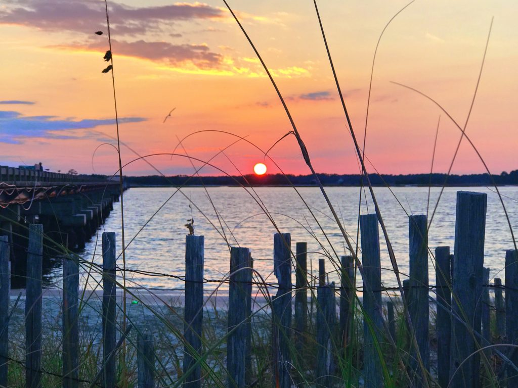 Sunset at George Grady Bridge Fishing Pier State Park