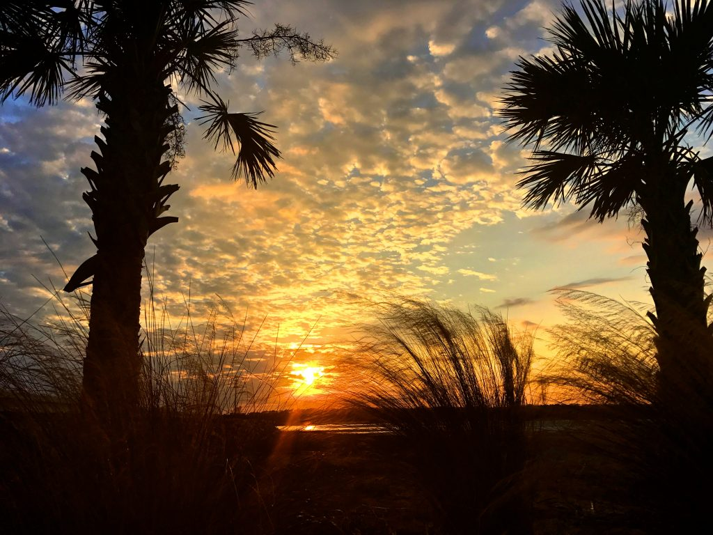 Sunset at Little Talbot Island State Park