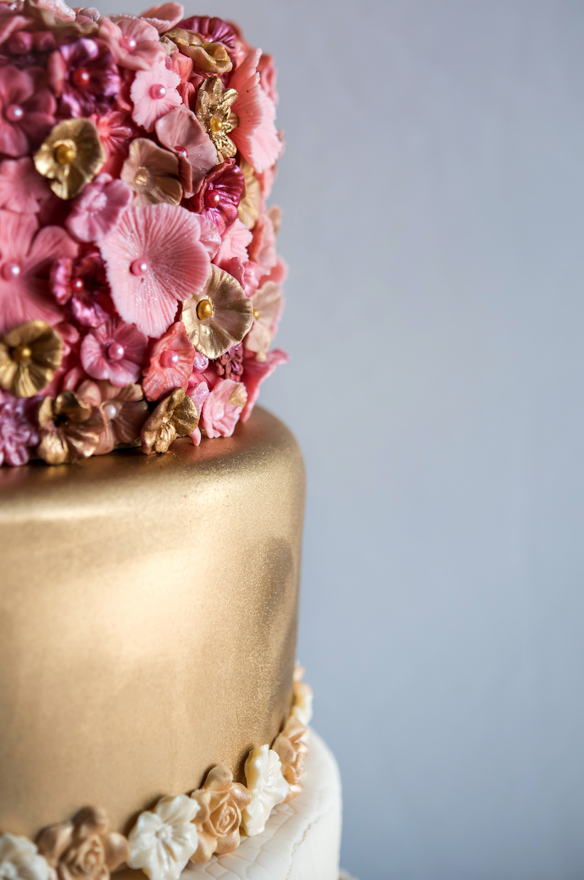 Recently Lenox Designed A Fashion Forward Wedding Cake Infused With An Impressive Collage Of Flavors Inspired By Cibo Wine Bar S Extensive List And