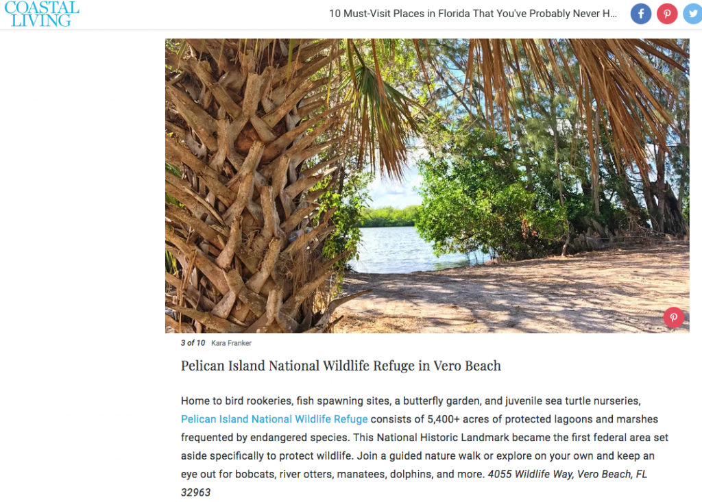 My latest for coastal living 10 best little beach towns for Top florida beach towns